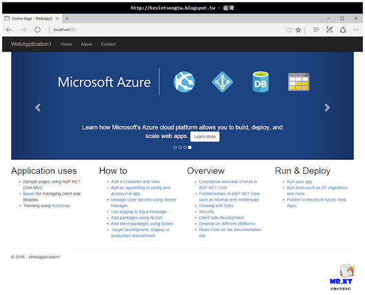 Docker for Windows 與 ASP.NET Core - Part.2 使用指令碼建立 Image 和 Container