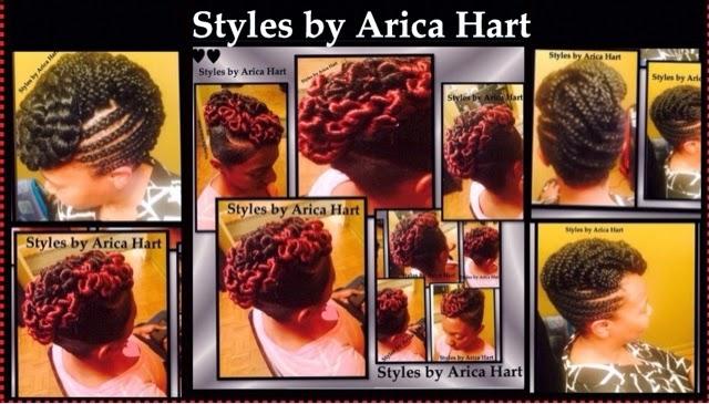 Mohawk hair styles , black hair styles, braids , twist , cornrows , updo hair styles