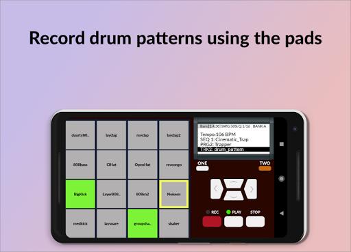 MPC MACHINE DEMO -Sampling Drum Machine Beat Maker 1.35 screenshots 1