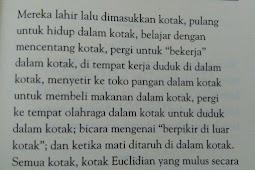 Logika Nassim Nicholas Taleb (Manusia dan Kotak)