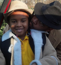 Photo: Hat Day at school! Kaleya wears her Daddy's hat 2/28/12