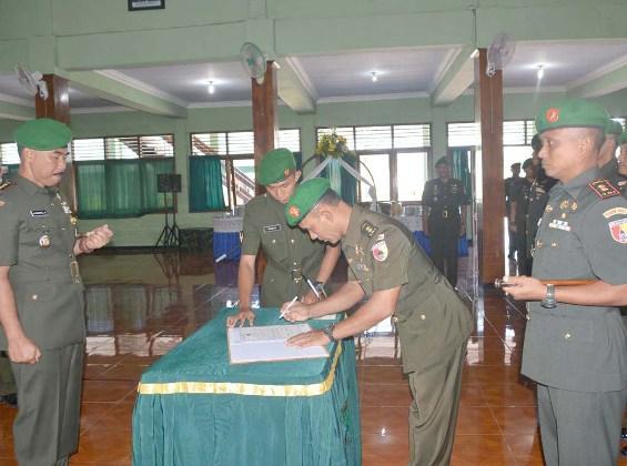 Kodim 0805/Ngawi Mempunyai Komandan Baru