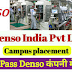 Denso India Pvt Ltd Job Requirement for ITI Pass Out Holder Campus Placement At Govt.ITI College Jind Haryana