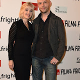 OIC - ENTSIMAGES.COM - Barbara  Crampton and Ted Geoghegan at the Film4 Frightfest on Friday of  We are still here UK Film Premiere at the Vue West End in London on the 28th August 2015. Photo Mobis Photos/OIC 0203 174 1069