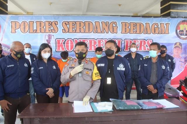 5 Tersangka Pemerkosa Siswi SMP Ditangkap Polres Sergai