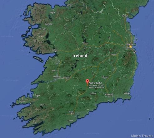 Rock of Cashel map