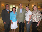 Frank Taylor, Martha Williams, Roger Chieffalo, Kerri Lambert and Nancy Hillmer