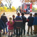Groep 3 bij de brandweer
