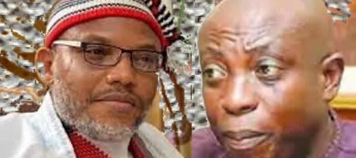 Nnamdi Kanu responsible for Oyibo massacre not Wike - Uwazuruike Says, defends Govt