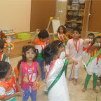 Independence Day & Janmashtami Celebration of Nursery Morning at Witty World, Chikoowadi 2017-18