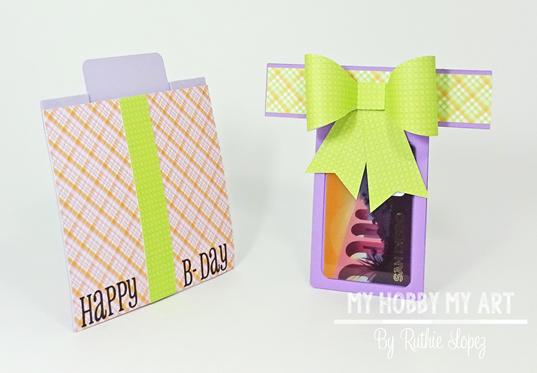 Blog Hop, Cumpleanos Laura Fernandez , Gift Card , Ruthie Lopez 3