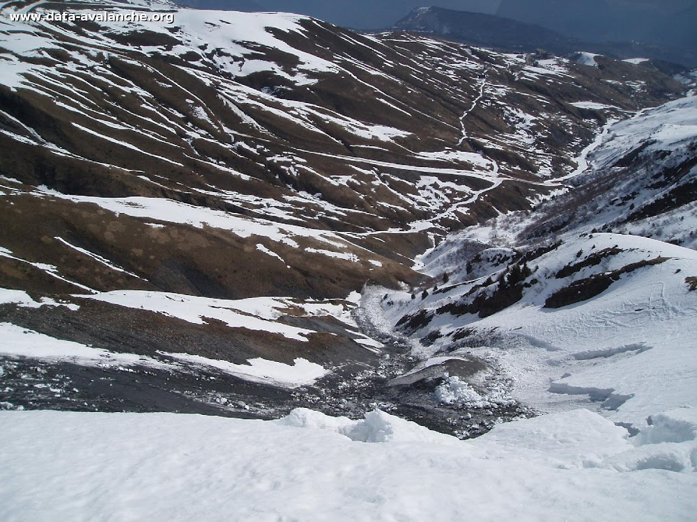 Avalanche Maurienne, secteur Ouillon, Combe de Coin Cavour - Photo 1