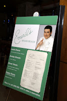 """""""Quickie Networker"""" at Emeril's"""