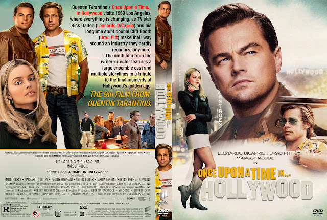 Once Upon A Time In Hollywood Dvd Cover Cover Addict Free Dvd Bluray Covers And Movie Posters
