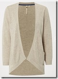 White Stuff linen blend natural cardigan