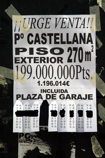 Venta piso en Paseo de la Castellana
