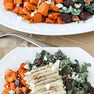 Tuscan Kale and Roasted Sweet Potato Salad.