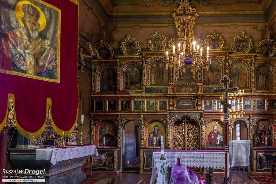 Drewniane skarby w Cerkwi w Owczarach