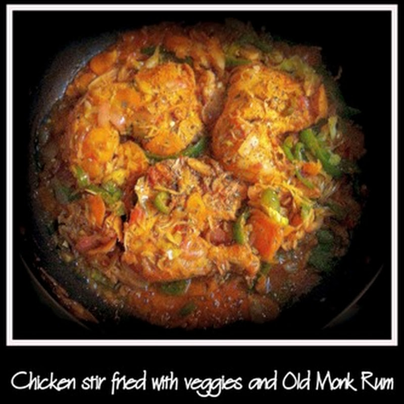 Foodie Files–Chicken Old Monk
