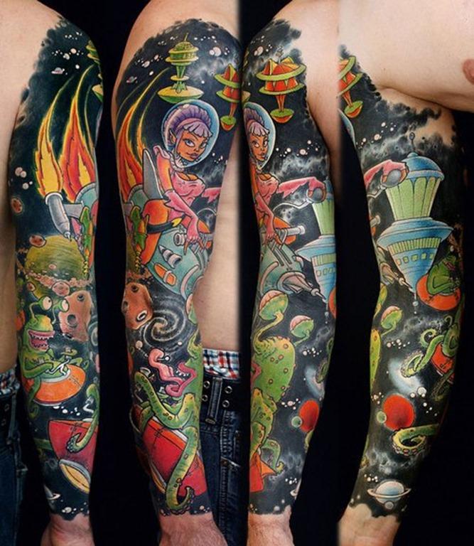csmica_de_desenhos_animados_manga_tatuagem