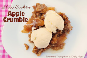 Slow Cooker Apple Crumble