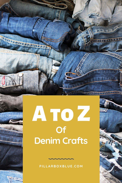 The A to Z of Denim Crafts, a co-host pick at Funtastic Friday!