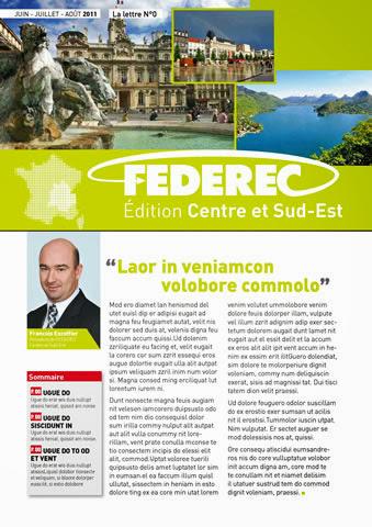 création magazine Federec région centre -Victoires 01