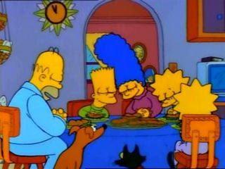 Thanksgiving de los Simpsons