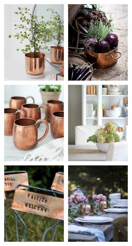 Weekend Inspiration copper