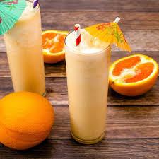 Orange milk shake recipe