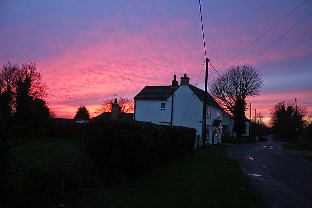 Sunset Over Woodhurst - Christmas Day 2007 - 7297488510233_0_BG.jpg