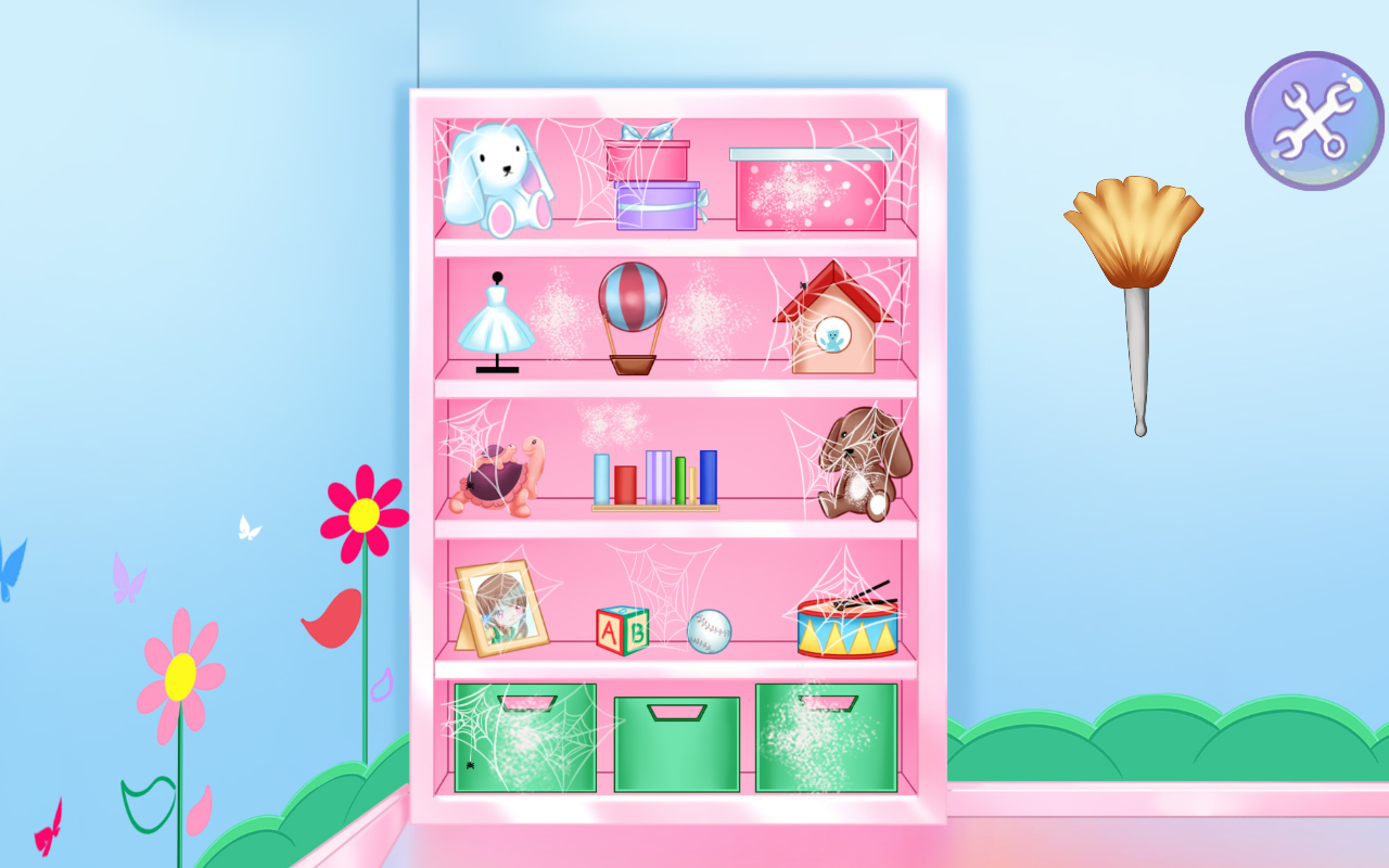 Cleaning Messy Room cleaning girl: messy room - android apps on google play