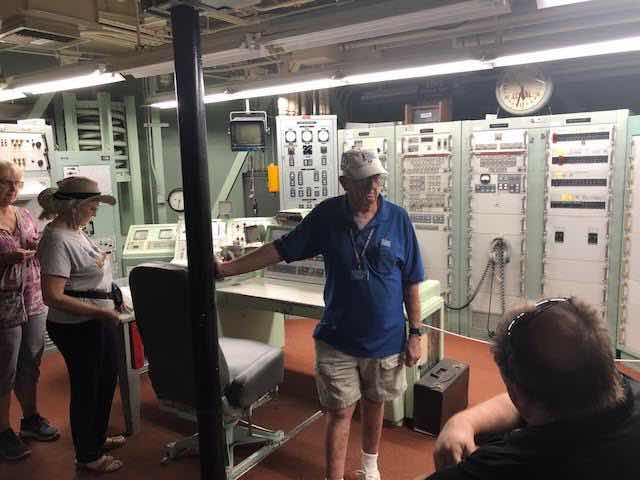 Inside the Titan II missile silo launch control room (Source: Palmia Observatory)