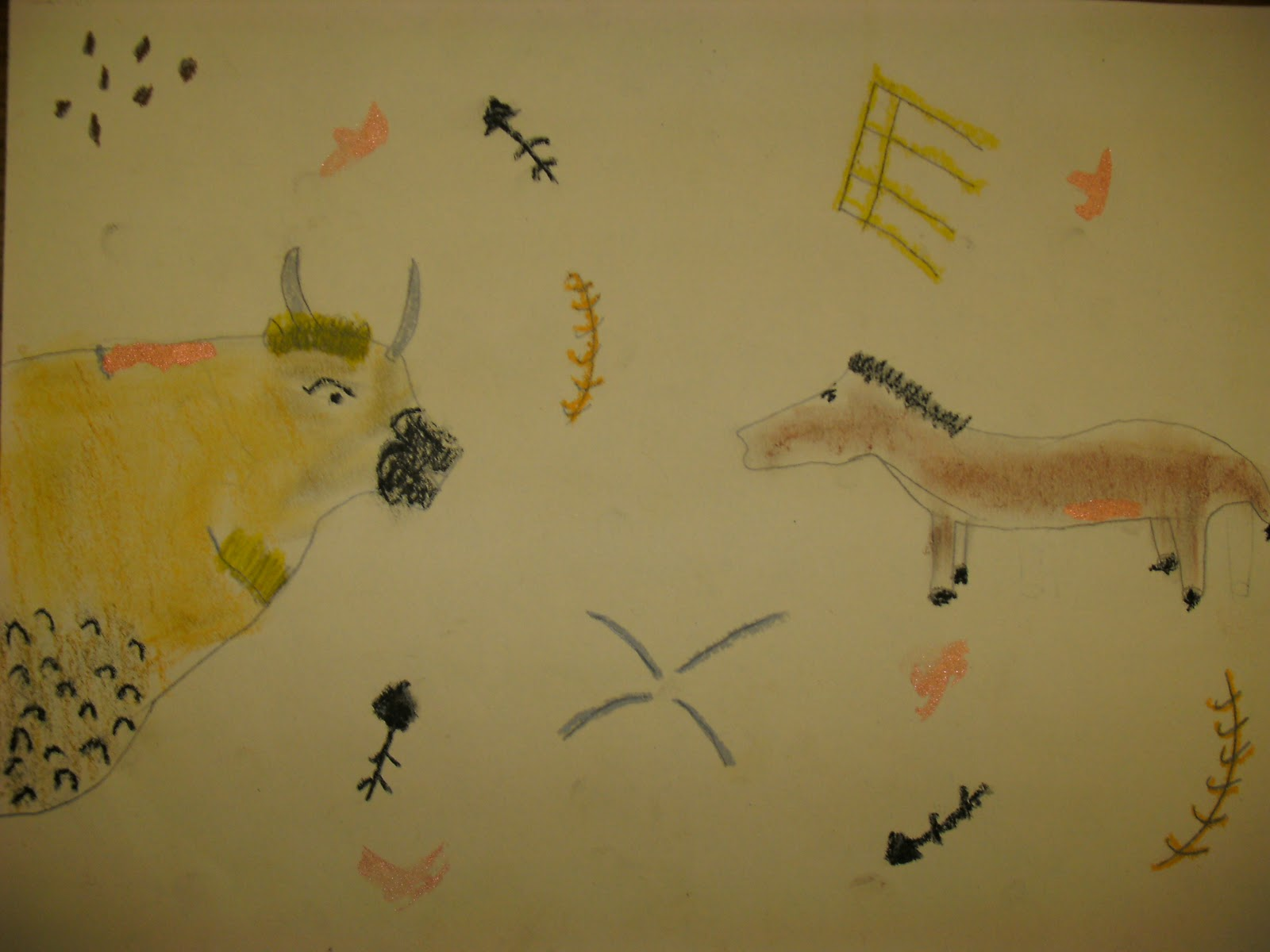 Adventures In Art Lascaux Cave Drawings