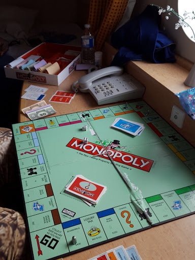 Playing Monopoly on the Marine Atlantic Ferry. Every Journey Matters: Marine Atlantic Ferries to Newfoundland