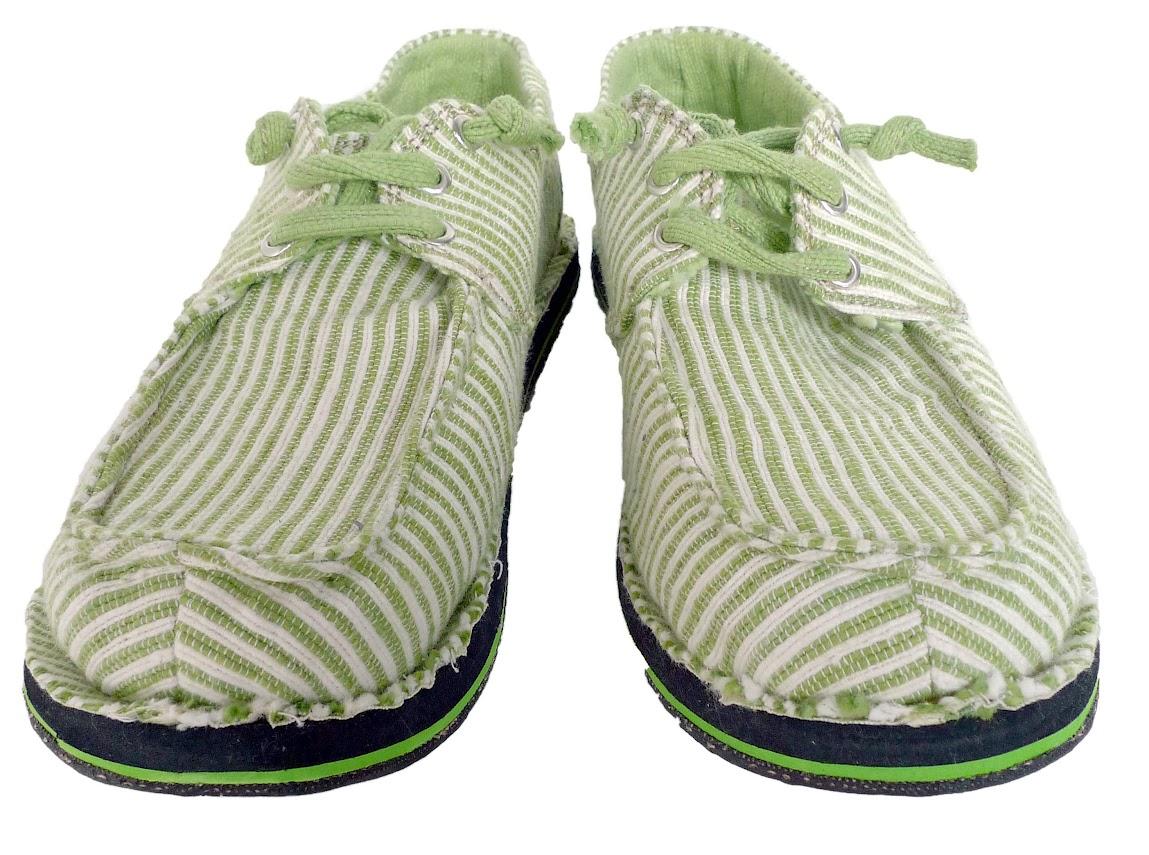 *soleRebels 清爽直條帆船鞋:非洲回收輪胎環保之美! 1