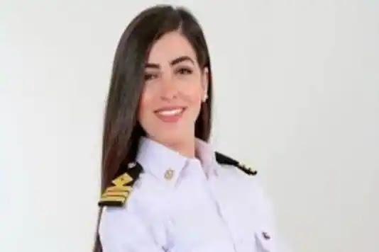 Egypt's first female ship captain Marwa Elselehdar