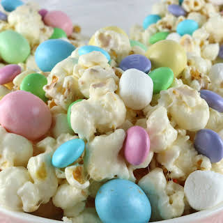 Easter Candy Popcorn.
