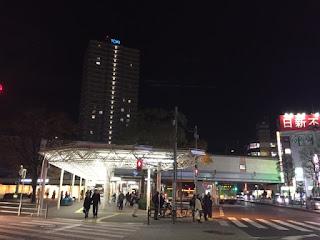 江戸川区都営新宿線の船堀駅