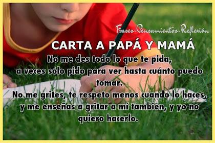 Frases De Amor Para Mama Y Papa