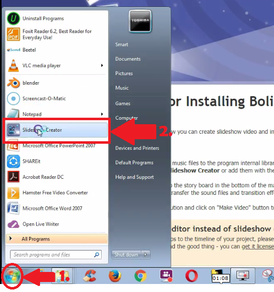 open-bolide-slideshow-creator-software