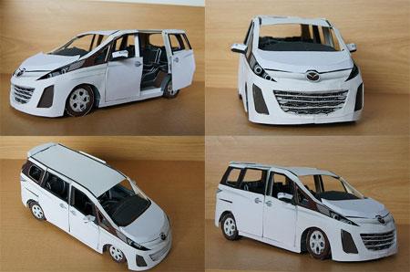 Mazda Biante Papercraft