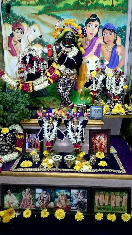ISKCON Bhusawal Deity Darshan 22 Jan 2016 (10)