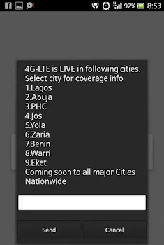 Glo 4G coverage cities