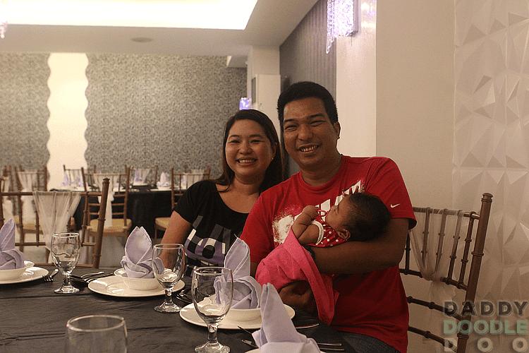Inside Master Garden Restaurant in Malabon