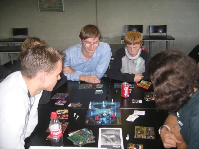 Star Wars - Epic Duels på Vikong Con 2003 - En populær turnering blandt både unge og ældre nørder.