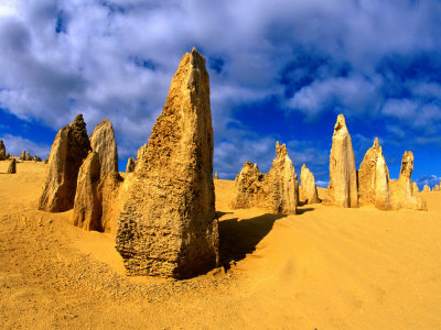 Пиннакли,пустыня в Австралии