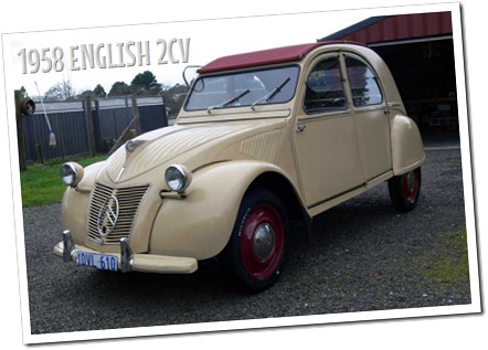 1958 Citroen 2CV Slough UK - autodimerda.it