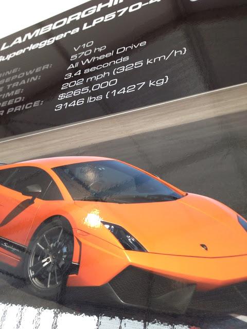 The stats of Lamborghini Superleggera