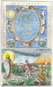 From Johann Schutze Ein Altes Sehr Schones Und Herrliches Tractatlein 1682, Alchemical And Hermetic Emblems 1